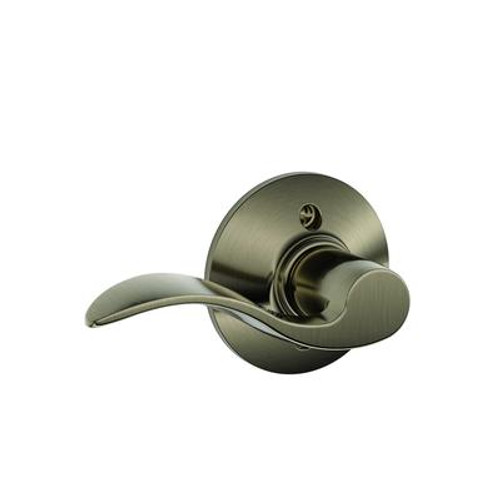 Antique Pewter Left Handed Accent Dummy Lever