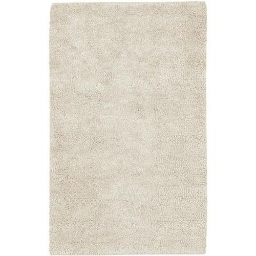 Adelanto Ivory New Zealand Felted Wool 3 Ft. 6 In. x 5 Ft. 6 In. Area Rug