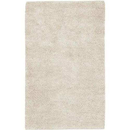 Adelanto Ivory New Zealand Felted Wool 5 Ft. x 8 Ft. Area Rug