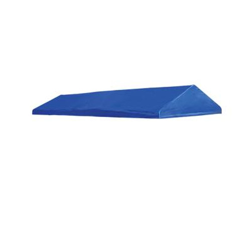 Celebration II 10 x 20 Blue Polyester Decorative Canopy Replacement Cover; Fits 1-3/8 Inch Frame