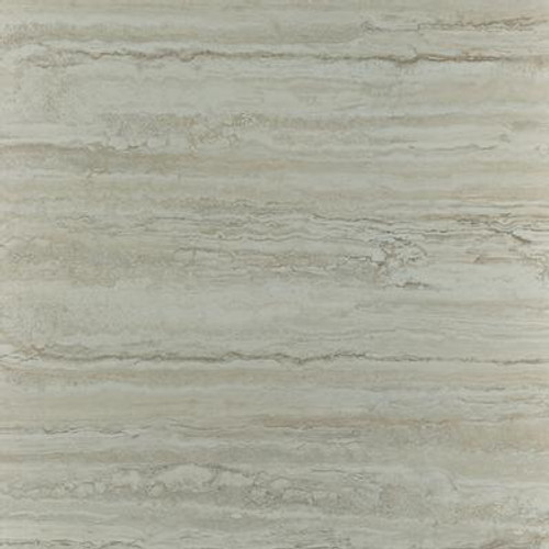 Ceramica 12 in. x 12 in. Roman Travertine Grey Resilient Vinyl Tile Flooring