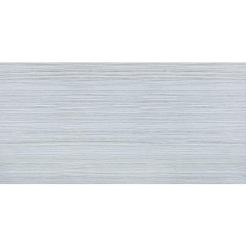 12 Inch x 24 Inch Zera Annex Silver Rectified Porcelain Tile -( 16 Sq. Ft.  / Case)