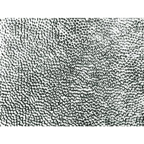 18.5 Inches x 48.5 Inches Stainless Steel Nail-Up Ceiling Tile Design Repeat Every 24 Inches