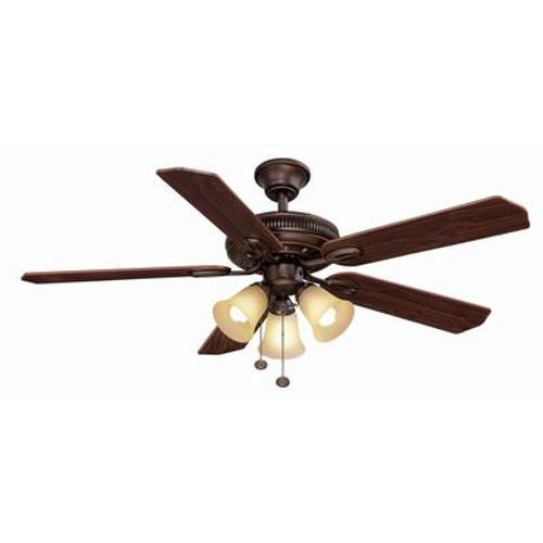 52'' Glendale ceiling fan in Oil Rubbed Bronze finish