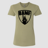 Womens BAMF logo (OD Green/Black)