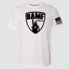 BAMF logo shirt (White/Black)