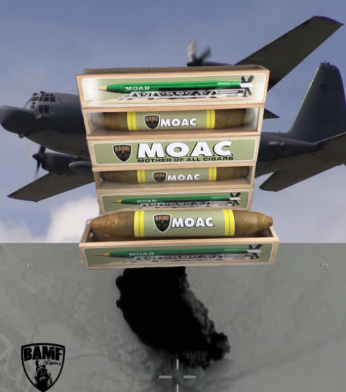 THE MOTHER OF ALL CIGARS (M.O.A.C.). Coming back on 10/10/2020 and only 10.