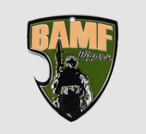 BAMF- BAD ASS CHALLENGE COIN/BOTTLE OPENER/KEYCHAIN, ***ONLY THIN RED LINE AVAILABLE*****SUBDUED AND BLUE LINE SOLD OUT 4/24/18*****