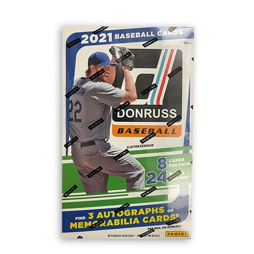 2021 Panini Donruss Baseball Hobby Box