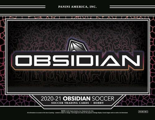 2020/21 Panini Obsidian Soccer Hobby 12 Box Case