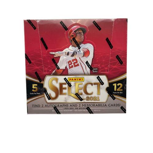 2021 Panini Select Baseball Hobby Box