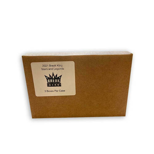 2021 Break King Stars and Legends 3 Box Case