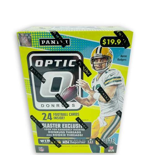 2016 Panini Donruss Optic Football Blaster Box