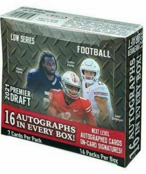 2021 Sage Hit Low Series Football Hobby Box