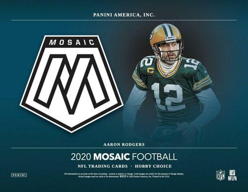 2020 Panini Mosaic Choice Football 20 Box Case