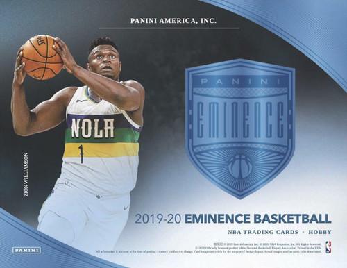 2019/20 Panini Eminence Basketball Case
