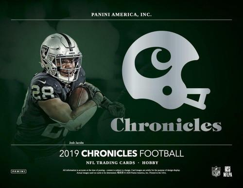 2019 Panini Chronicles Football Hobby Box