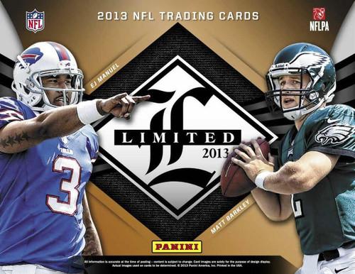 2013 Panini Limited Football Hobby 15 Box Case