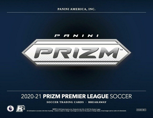 2020/21 Panini Prizm EPL Soccer Breakaway 20 Box Case