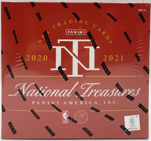 2020-21 National Treasures Basketball Hobby Box