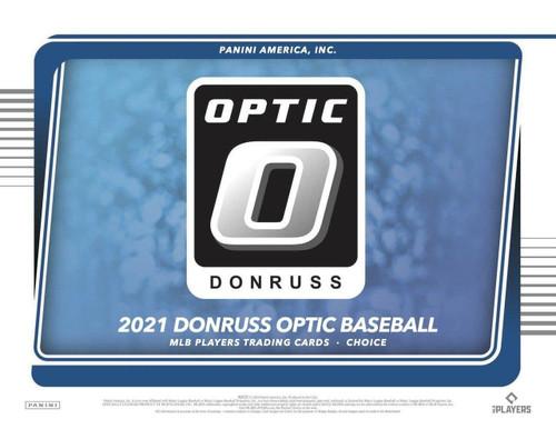 2021 Panini Donruss Optic Baseball Choice Box