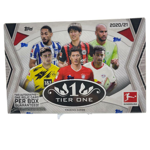 2021 Topps Tier One Bundesliga Soccer Hobby Box