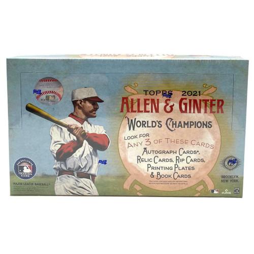 2021 Topps Allen and Ginter Baseball Hobby Box