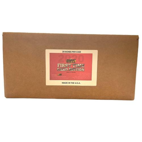 2020 Super Break First Time Card Edition 20 Box Case