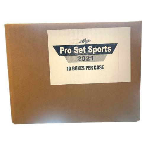 2021 Leaf Pro Set Sports Multi-Sport 10 Box Case