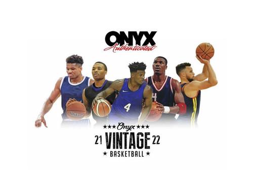 2021/22 Onyx Vintage Collection Basketball Box