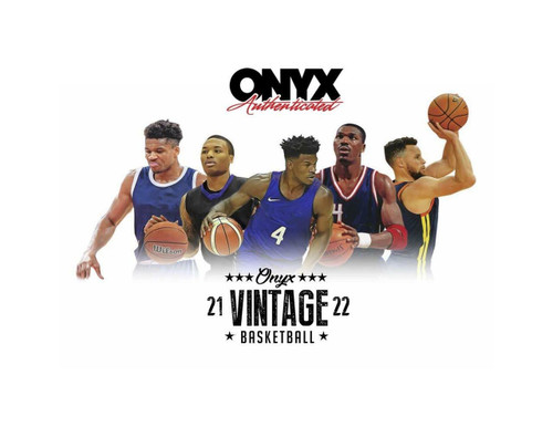 2021/22 Onyx Vintage Collection Basketball 24 Box Case