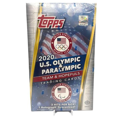 2021 Topps US Olympics and Paralympic Hopefuls Hobby Box