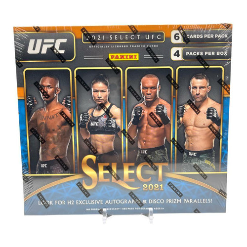2021 Panini Select UFC H2 Box