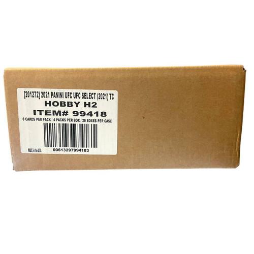 2021 Panini Select UFC H2 20 Box Case