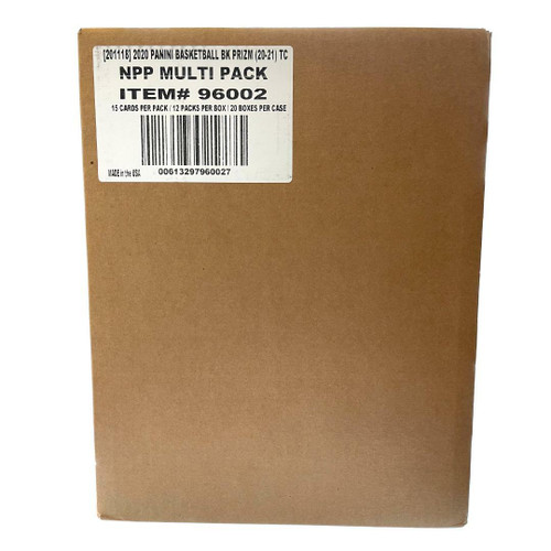 2020/21 Panini Prizm Basketball Multi-Pack 20 Box Case