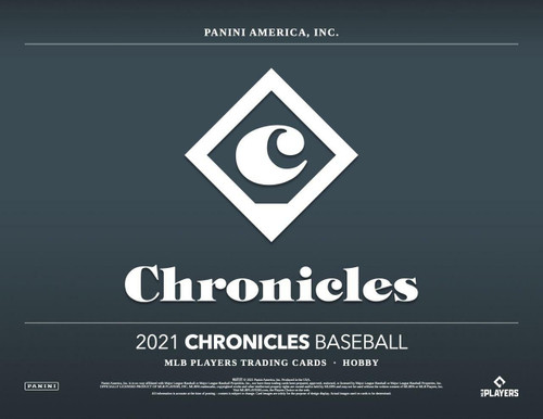 2021 Panini Chronicles Baseball Hobby 16 Box Case
