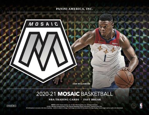 2020/21 Panini Mosaic Basketball Fast Break Box