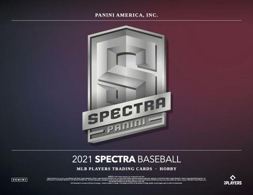 2021 Panini Spectra Baseball Hobby 8 Box Case