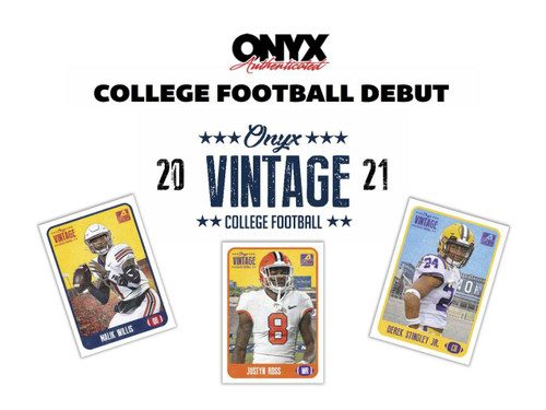 2021 Onyx Vintage Collection College Football 24 Box Case
