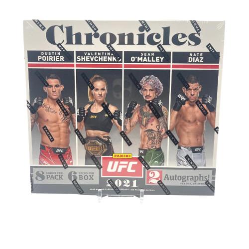 2021 Panini Chronicles UFC Hobby Box