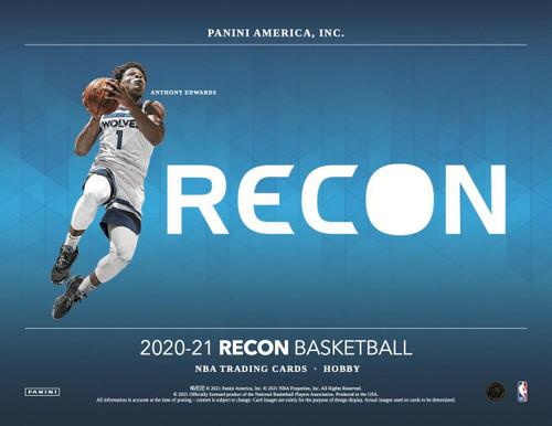 2020/21 Panini Recon Basketball Hobby 12 Box Case
