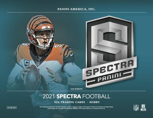 2021 Panini Spectra Football Hobby Box