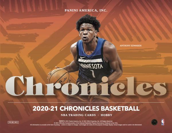 2020/21 Panini Chronicles Basketball Hobby Box