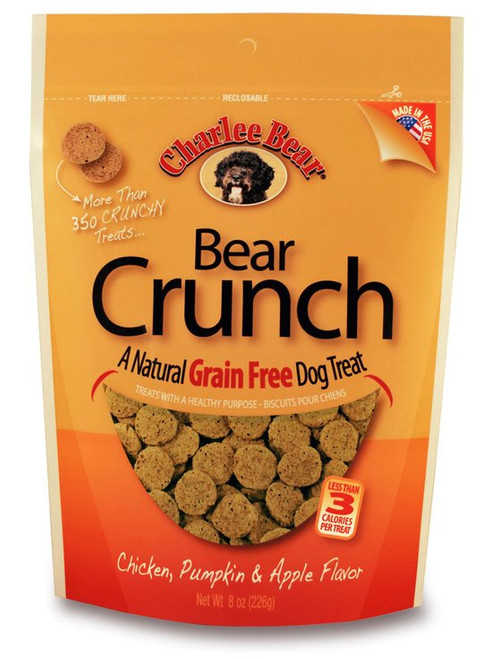 Charlee Bear Chicken, Pumpkin & Apple Crunch Treat