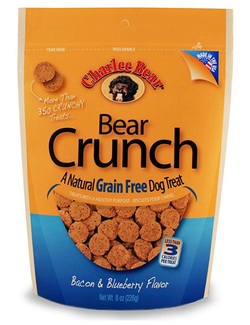 Charlee Bear Bacon Blueberry Crunch Treat