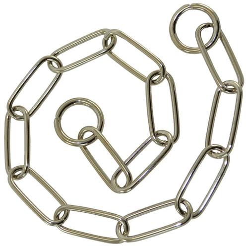 Fur Saver Chrome-Plated Choke Chain Collars