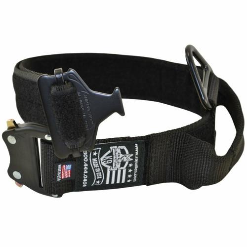 Nylon ID Service Collar with Metal Buckle