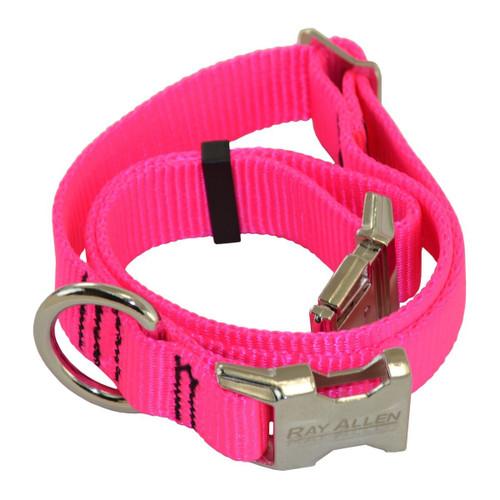 Hot Pink Nylon Collar