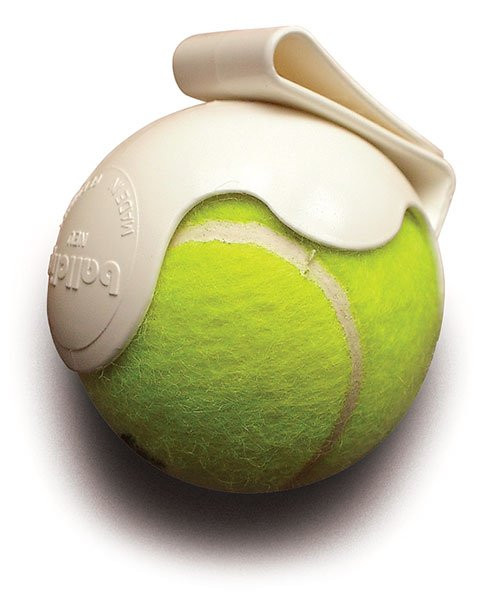 Plastic Tennis Ball Clip