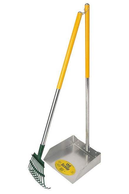Rake and Shovel Poop Scoop